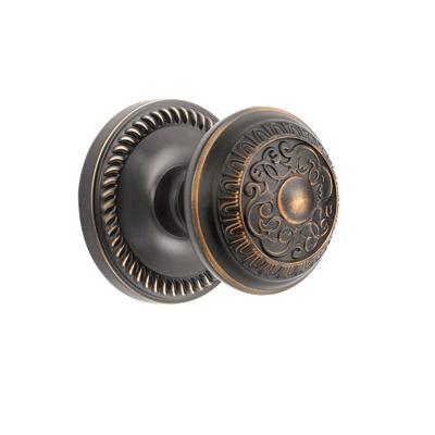 Grandeur Windsor Knob with Newport Rose Timeless Bronze