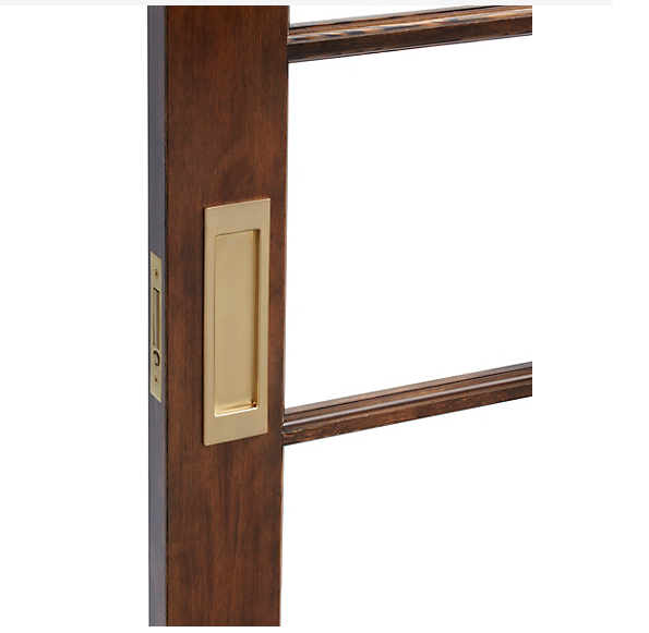 Baldwin Estate PD005.003.PASS Santa Monica Passage Sliding Door Set