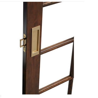 Baldwin PD005.003.PASS Santa Monica Passage Sliding Door Set