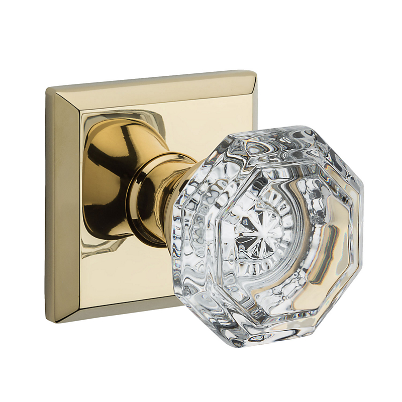 Baldwin Crystal Knobs Crystal Door Knob Set