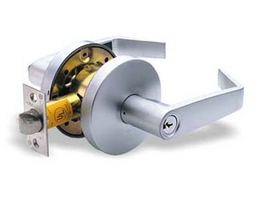 Pamex Heavy Duty Princeton Entrance Lever in Satin Chrome (US26D)