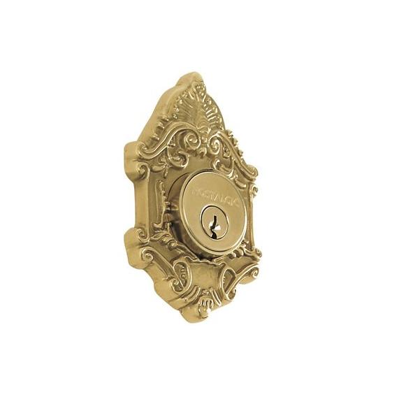 Nostalgic Warehouse Victorian Single Cylinder Deadbolt Polished Brass (PB)