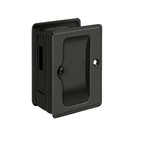 Deltana SDAR325 Heavy Duty Pocket Door Lock Receiver for Double Doors