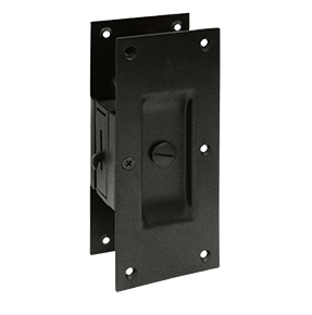 Deltana SDL60-10B Decorative Privacy Pocket Door Lock Oil Rubbed Bronze