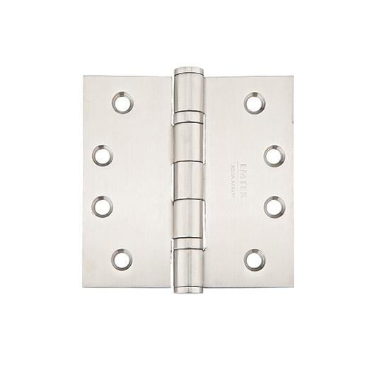 Emtek 4 1/2 x 4 1/2 Stainless Steel Square Corner Ball Bearing Hinges 9841532D