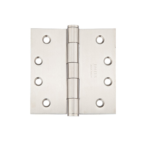 Emtek 3-1/2 x 3-1/2 Stainless Steel Square Corner Heavy Duty Hinges 9821332D
