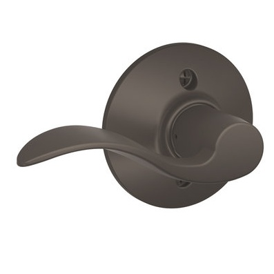 Schlage Accent f170 acc Dummy 613 Oil Rubbed Bronze