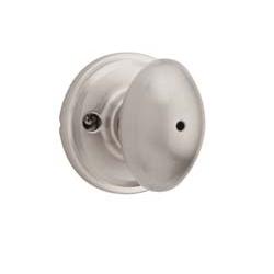 Weiser GA331L Privacy 15 Satin Nickel