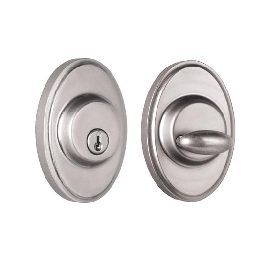 Weslock 2771 Oval Single Cylinder Satin Nickel (15)