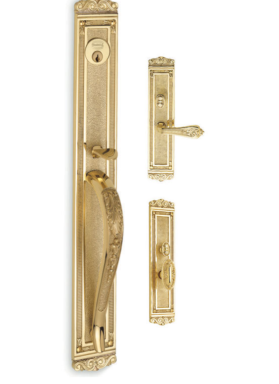 Omnia Westhampton Mortise Entrance Handleset