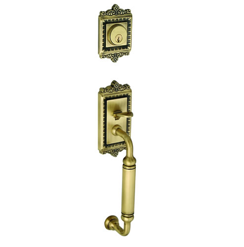 Grandeur Windsor Handleset shown in Antique Brass (AB)