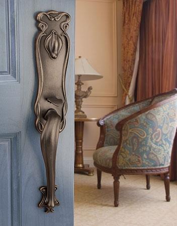 Emtek471333 Art Nouveau Handleset