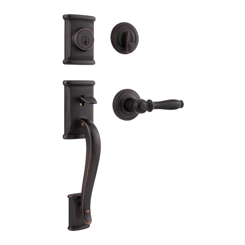 Weiser Ashfield Handleset Low Price Door Knobs