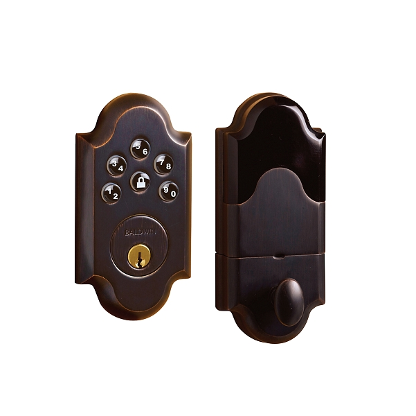 Baldwin Estate 8252 Ac1 Boulder Keyless Entry Single