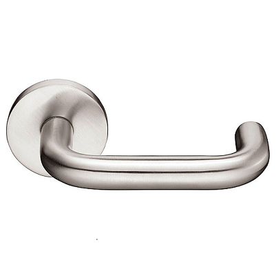 Emtek Cologne Tubular Stainless Steel Door Lever Set Low