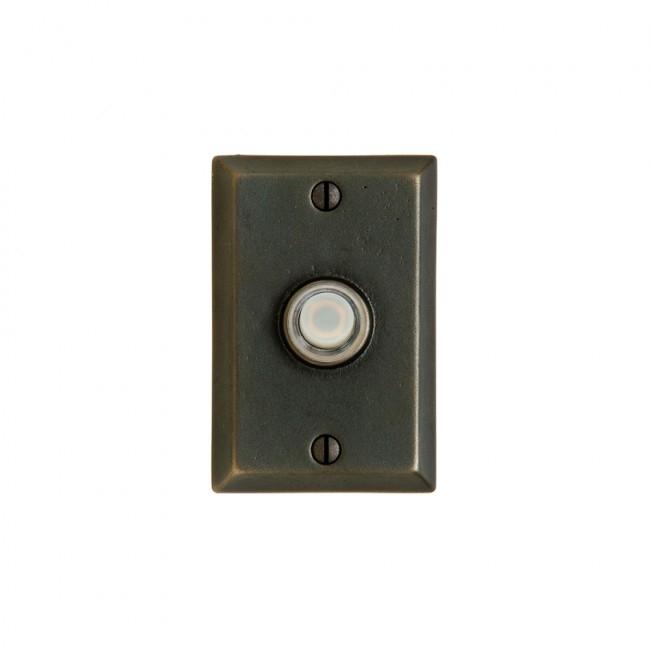 Rocky Mountain E400 Rectangular Door Bell Button