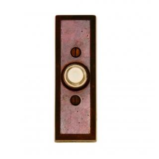 Rocky Mountain EW108 Rectangular Door Bell Button