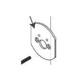 Grandeur 805102 Single Cylinder Deadbolt Adaptor Plate
