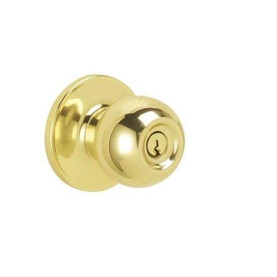 Dexter J54 Cna Keyed Entry 605 Polished Brass