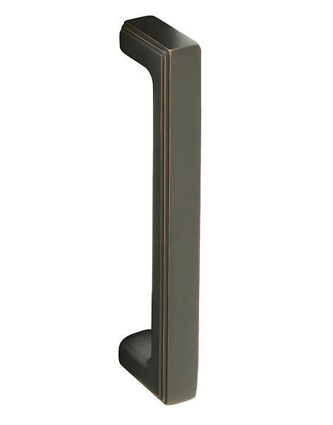 Emtek Brass Wilshire Door Pull Oil Rubbed Bronze 86078