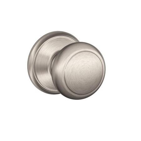 Schlage F10 Andover 619 Satin Nickel