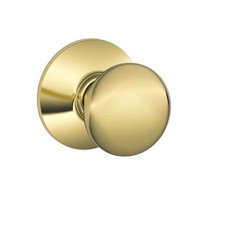 Schlage F10 Ply Passage Polished Brass 605