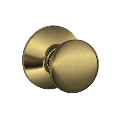 Schlage F10 Ply Passage Antique Brass 609