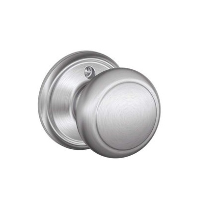 Schlage F170 And Dummy Knob 626 Satin Chrome