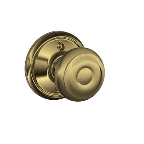 Schlage F170 Geo Dummy Antique Brass 609