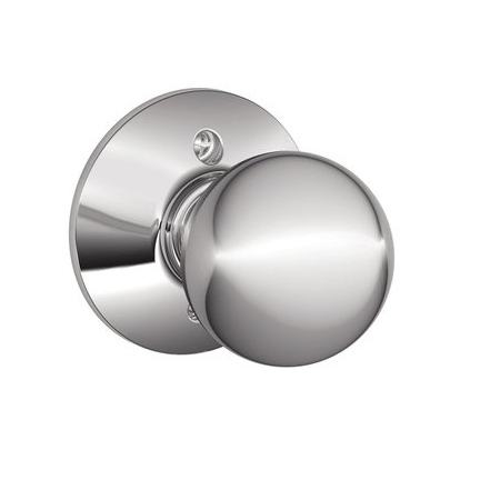 Schlage F170 Orb Dummy Bright Chrome 625