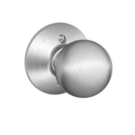 Schlage F170 Orb Dummy Satin Chrome 626