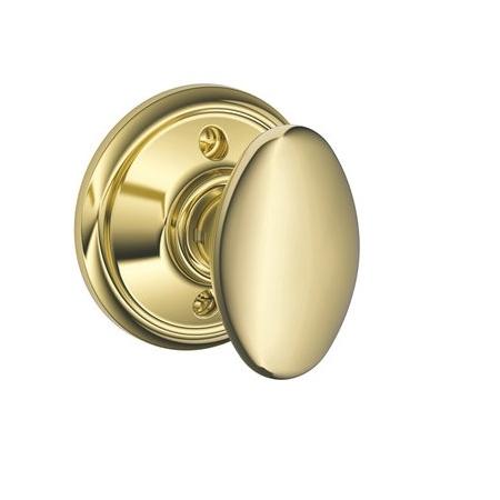 Schlage F170 Sie Dummy Polished Brass 605
