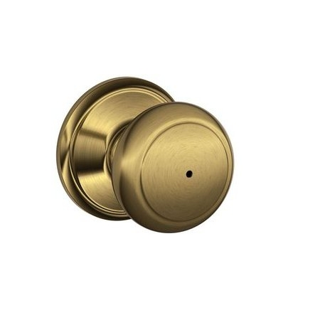 Schlage F40 And Privacy Antique Brass 609