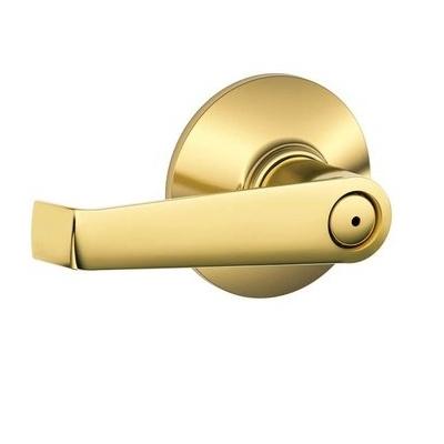 Schlage Elan F40 Ela Privacy 605 Polished Brass