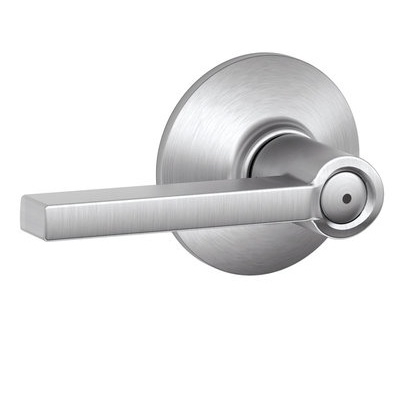 Schlage Latitude F40 Lat Privacy 626 Satin Chrome