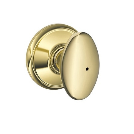 Schlage F40 Sie Siena Privacy Door Knob Set Low Price