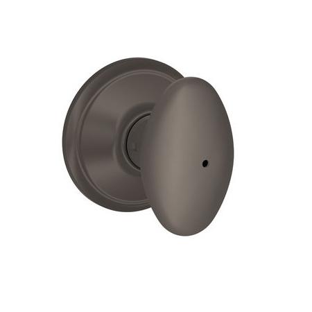 Schlage F40 Sie Privacy Oil Rubbed Bronze 613