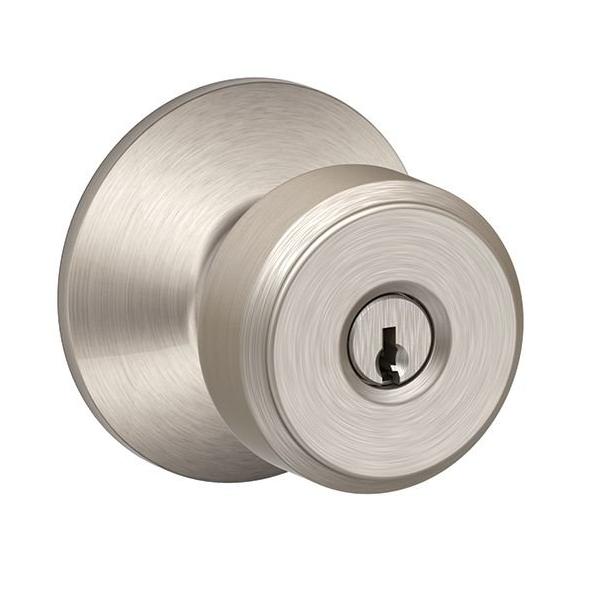 Doorknobs only turn one way