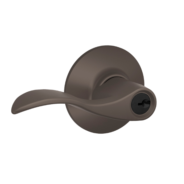 Schlage Accent F51A-Acc-613 Keyed Entry 613 Oil Rubbed Bronze