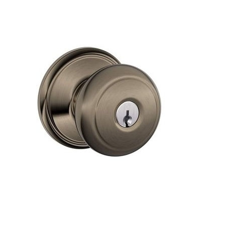 Schlage F51A-AND-620 keyed entry 620 Antique Pewter