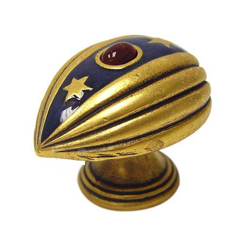 Emenee FAB1001-RG Easter Egg Pendant Cabinet Knob in Russian Gold (RG)
