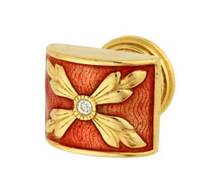 Emenee FAB1002-MG Faberge Parasol Cabinet Knob in Museum Gold (MG)