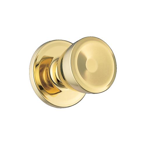 Weiser GAC101B Passage 3 Polished Brass