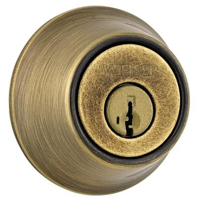 Weiser GDC9471-SMT 5 Antique Brass