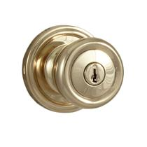 Weslock Traditional Collection Sonic Keyed Entry Door Knob Set