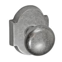 Fusion Decorative Collection Half-Round Door Knob