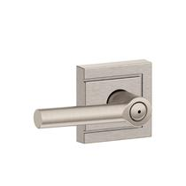 Schlage F40-BRW-ULD Broadway Privacy Door Lever Set with Upland Rose