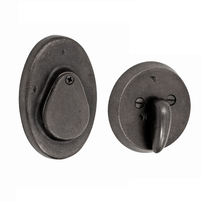 Fusion Sandcast Oval Covered Deadbolt