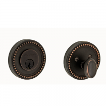 Fusion Beaded Deadbolt
