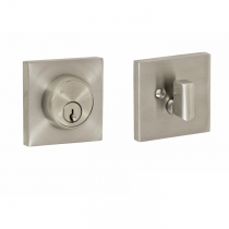 Fusion Stainless Steel Square Deadbolt